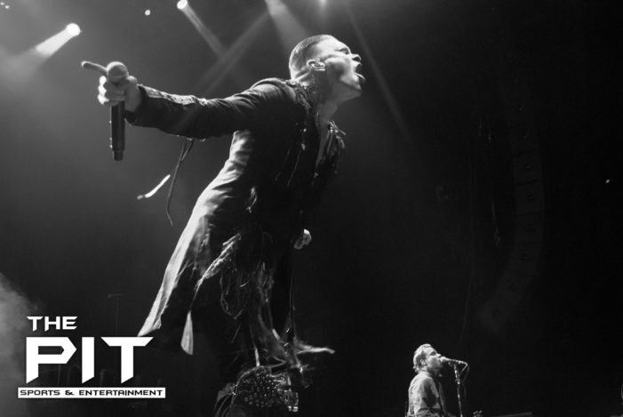 Shinedown at their best during Carnival of Madness