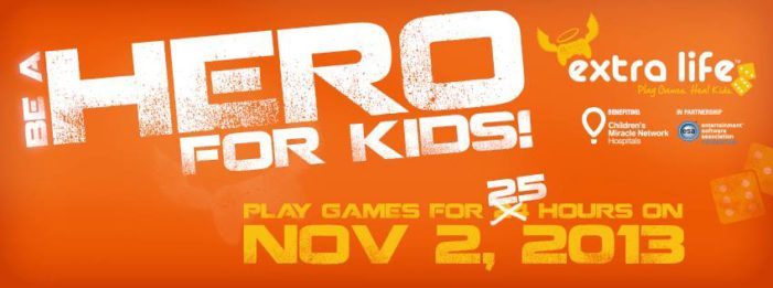 Gaming to earn an Extra Life