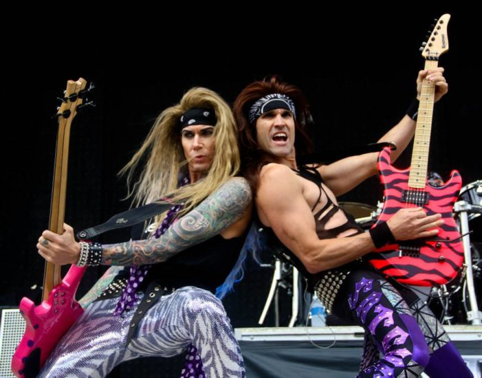 Steel Panther unzipped for 'All You Can Eat'
