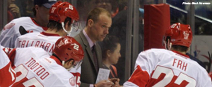 Griffins coach Jeff Blashill named AHL Coach of the Year
