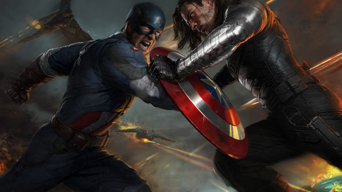 Captain America fights the good fight with 'The Winter Soldier'