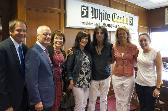 Alice Cooper inducted into the White Castle Cravers Hall of Fame