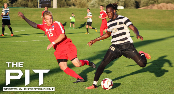 Oakland blanks Saginaw Valley State, 3-0, in men's soccer exhibition