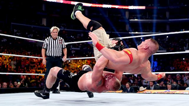 Experience 9.99: Grading Summerslam 2014 on WWE Network