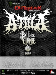 Attila to headline the Monster Outbreak Tour this fall