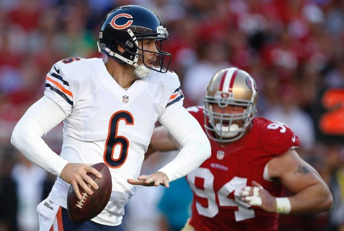 Bears stun Niners with late comeback