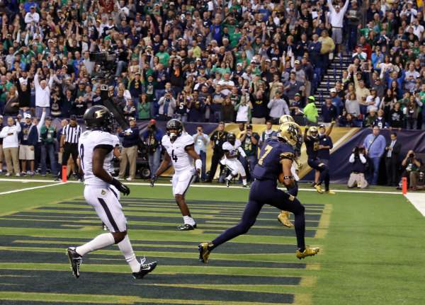 Golson unstoppable, leads Notre Dame over Purdue
