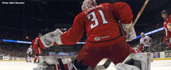 Griffins end 2014 with shootout loss to IceHogs
