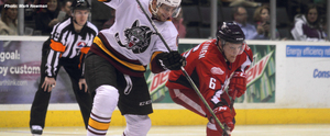 Griffins Blow Lead, Lose to Wolves