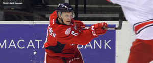 Pulkkinen ties franchise record in OT win