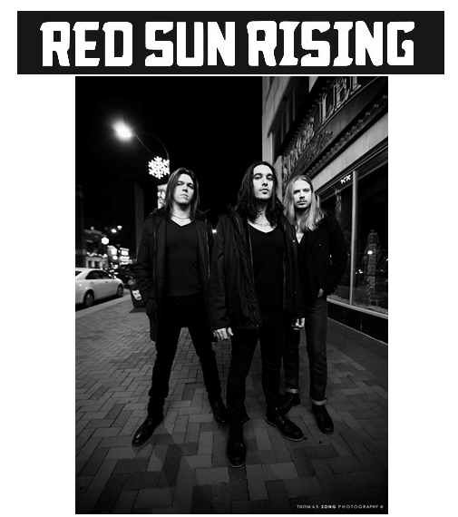 Red Sun Rising teams with Razor & Tie