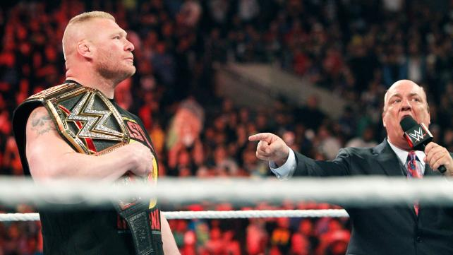 Brock Lesnar going to UFC? Not on Vince McMahon's watch