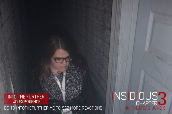 """Into The Further"" with Insidious: Chapter 3"