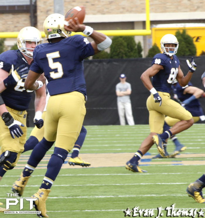 Everett Golson will transfer from Notre Dame