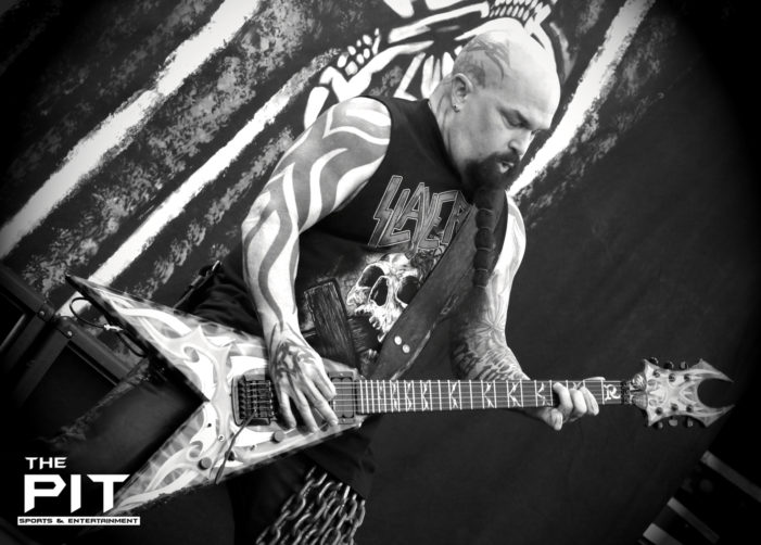 Kerry King of Slayer sits down with The Pit