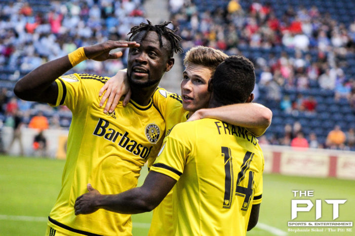 Crew SC earn first road win behind Kamara, Finlay
