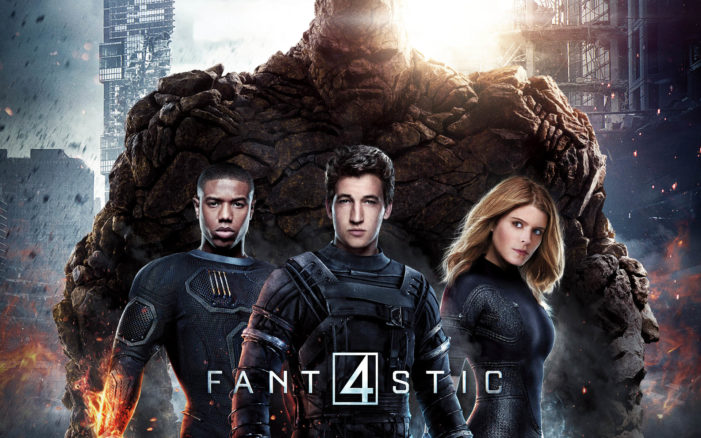 New Fantastic Four flounders at theaters