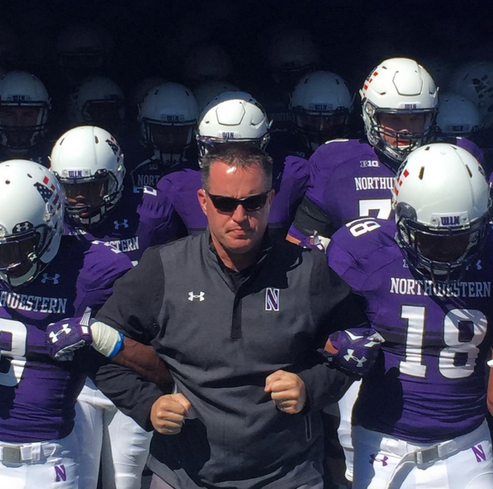 Northwestern shuts out Eastern Illinois 41-0