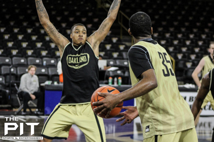 Five Oakland men's basketball observations heading into the 2015-16 regular season