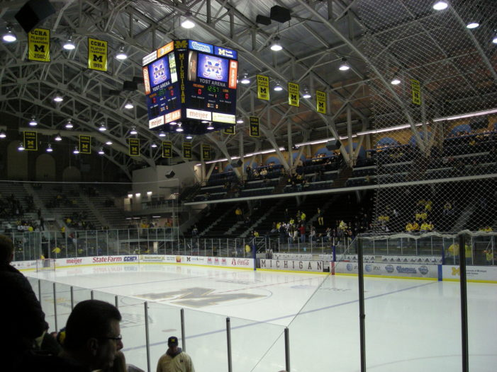 College hockey is back and the Wolverines look to make an impact