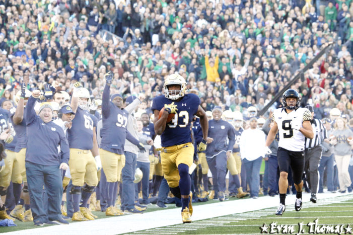 #4 Notre Dame beat Wake Forest 28-7