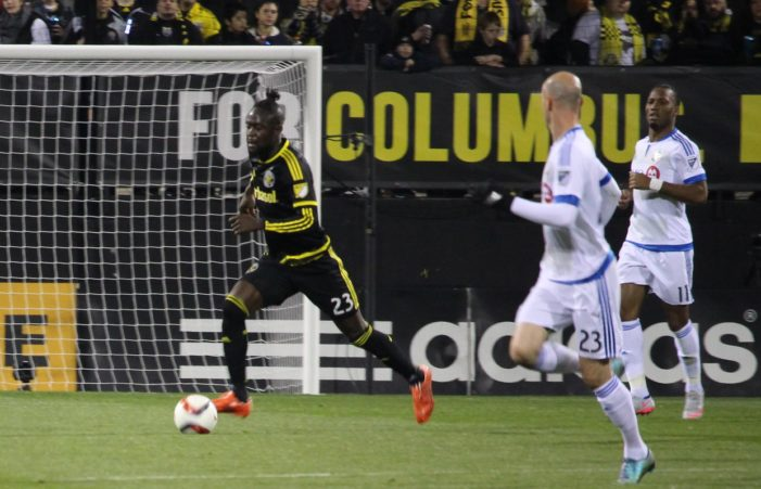 Kamara's header in extra time sends Crew SC to  Eastern Conference Finals