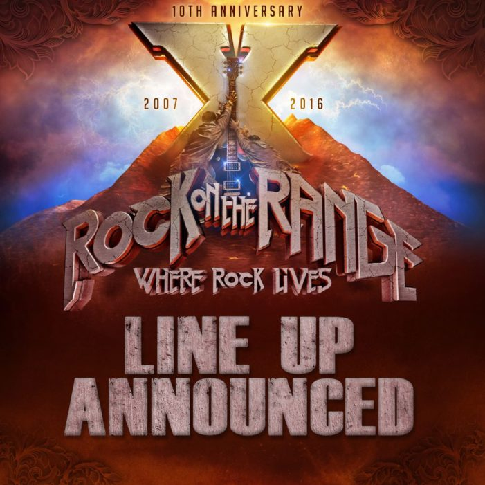 Rock on the Range 2016 lineup released