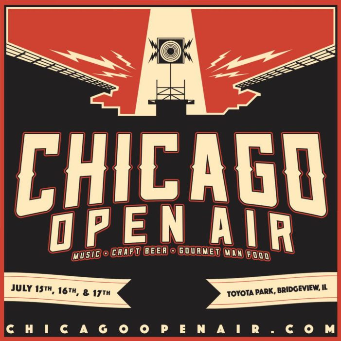 Chicago Open Air line up released