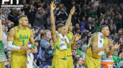 On senior day, freshmen help Notre Dame to victory over NC State
