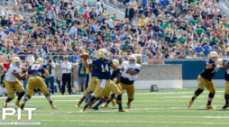 Blue beats Gold in spring game, Notre Dame QB competition locked in stalemate
