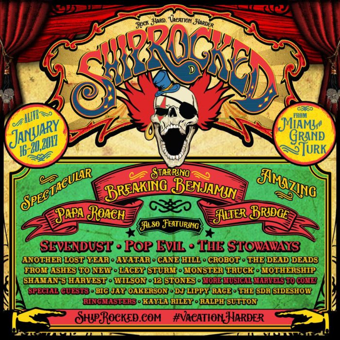 Breaking Benjamin headlines Shiprocked