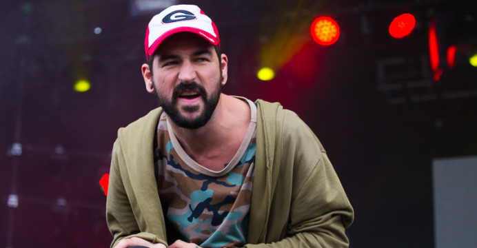 Michael Bohn performs with Issues at Rock On The Range in 2016. Photo/Jason Squires (ROTR)