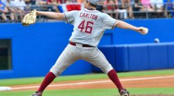 Drew Carlton puts Florida State in the drivers seat