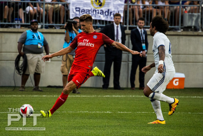 ICC 2016: Meunier brace leads Paris Saint-Germain over Real Madrid, 3-1