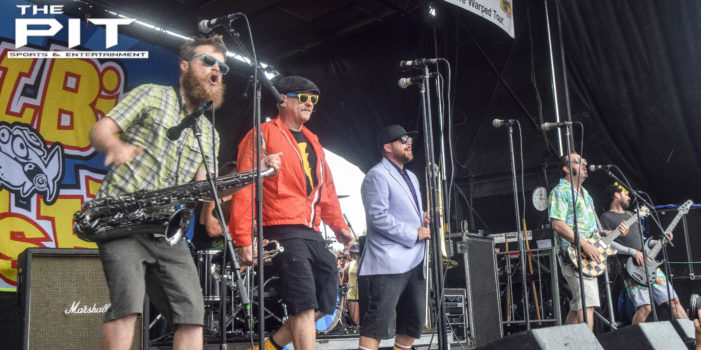 The Music Blitz: Reel Big Fish rock Warped Tour