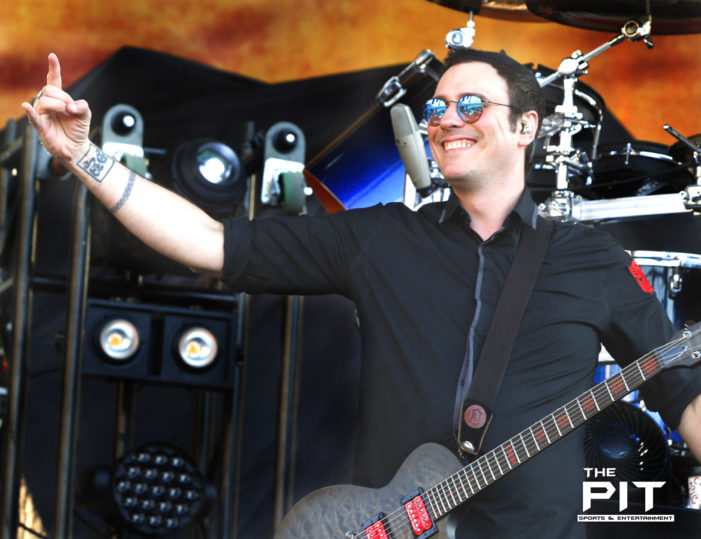 The Music Blitz: Breaking Benjamin at Chicago Open Air
