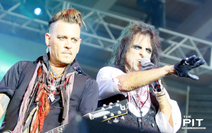 Hollywood Vampires take over RiversEdge Park
