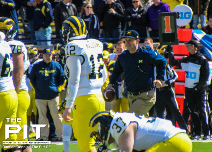 It's not just hype; it's Michigan! Can Harbaugh take them all the way?