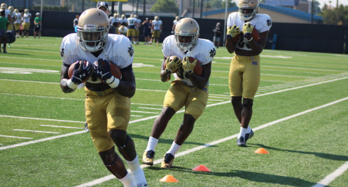 Six Notre Dame players arrested in separate incidents this weekend