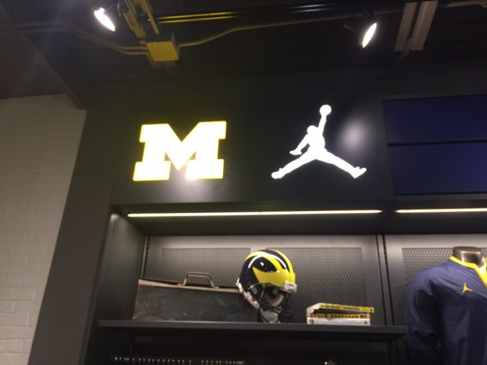 It's official: Michigan and Nike start partnership off with a bang