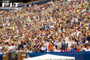 The Big House now holds the record for largest and second largest soccer crowds in US history after 105,826 fans filled Michigan Stadium for the International Champions Cup match between Real Madrid and Chelsea. Jordan Gonzalez/The Pit