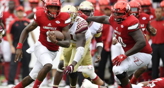 Louisville Stomps Florida State in 63-20 Win