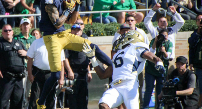 Former Irish star Will Fuller gets first NFL touchdown reception
