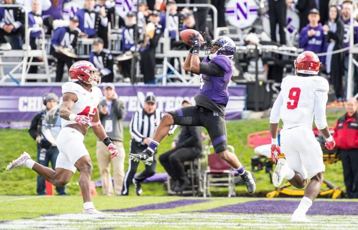 Northwestern jumps to early lead, beats Indiana 24-14