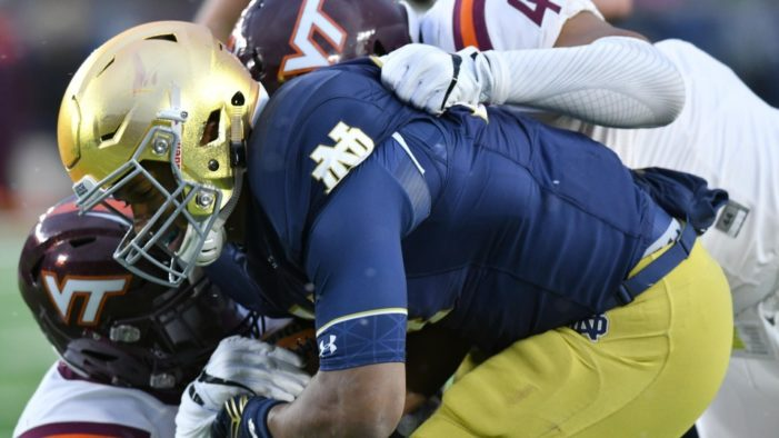 Irish let another game slip away, denied bowl eligibility