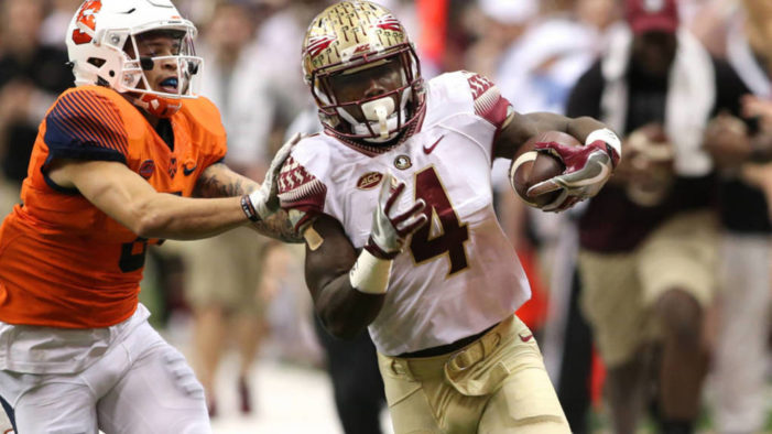 Florida State's Cook has record breaking day as the 'Noles down Syracuse