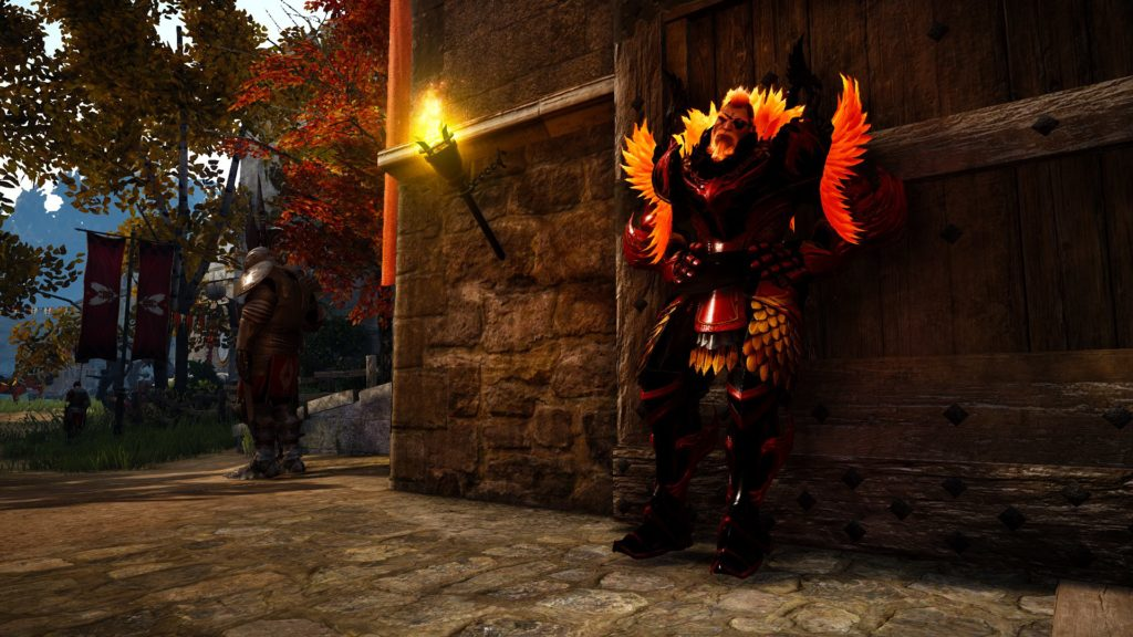 Kyle's character in Black Desert Online is named Khovax, a beserker class character he modeled after a Nordic fire giant. The character creation aspect is very detailed, allowing players to do numerous unique things to their characters. The berserker class is locked to male giants.