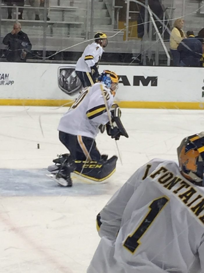 Power play proves effective for Wolverines in shutout of No. 4 Boston U