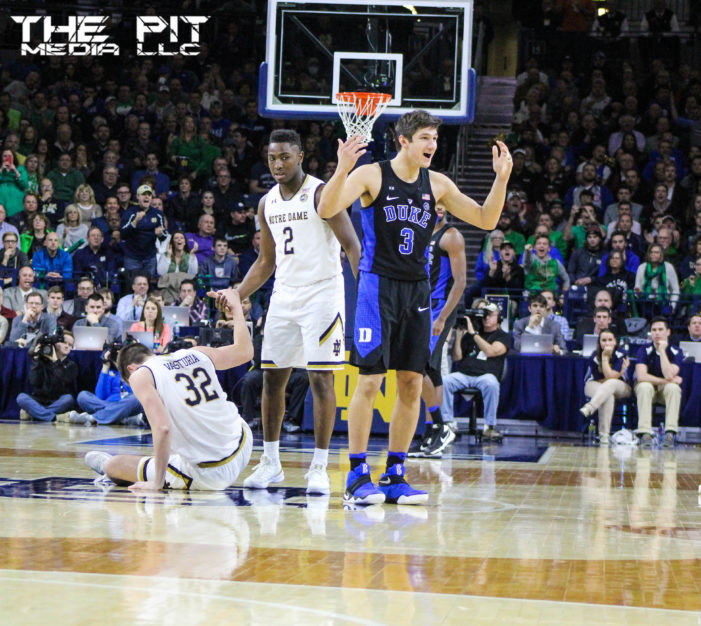 Was TJ Gibbs a victim of a Grayson Allen tripping incident?