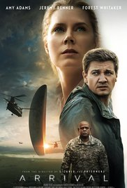Fully loaded poster for Arrival. Photo/IMDb